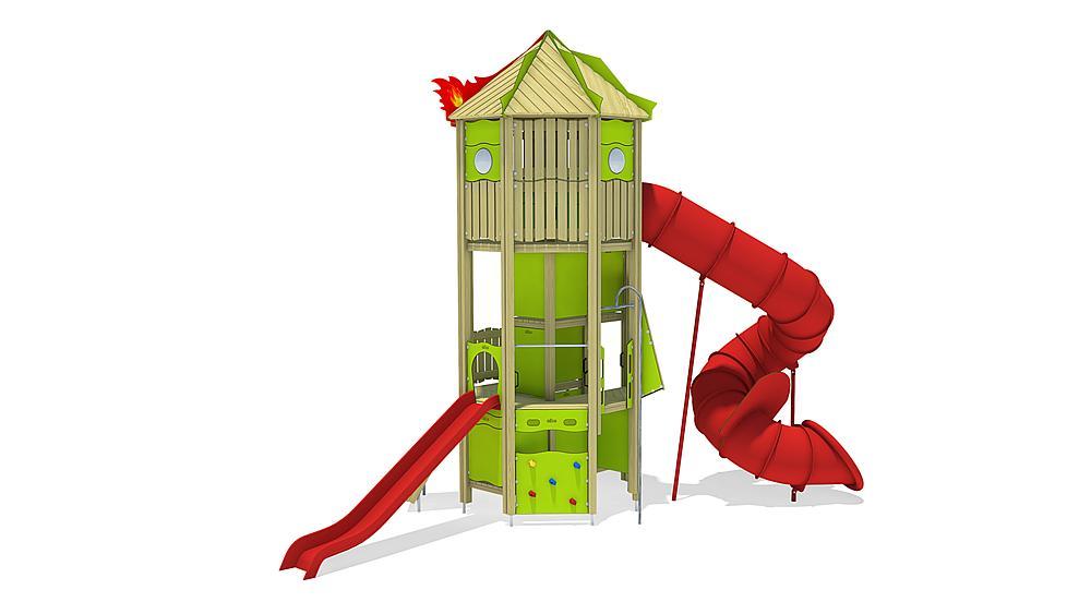 """Игровой комплекс """"Пожарная башня"""" 51180201100 купить в Алматы"""