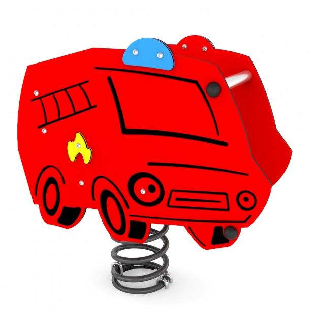 """Пружинная качалка """"Пожарная"""" 0631 купить в Алматы"""