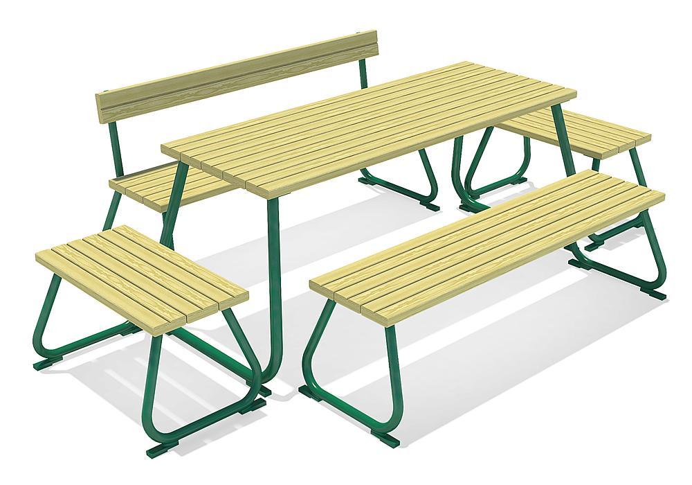Стол и скамейки 51007101000 купить в Алматы