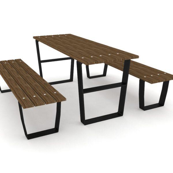 Стол со скамейками 0914 купить в Алматы